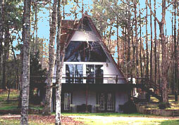 hunting and fishing lodge